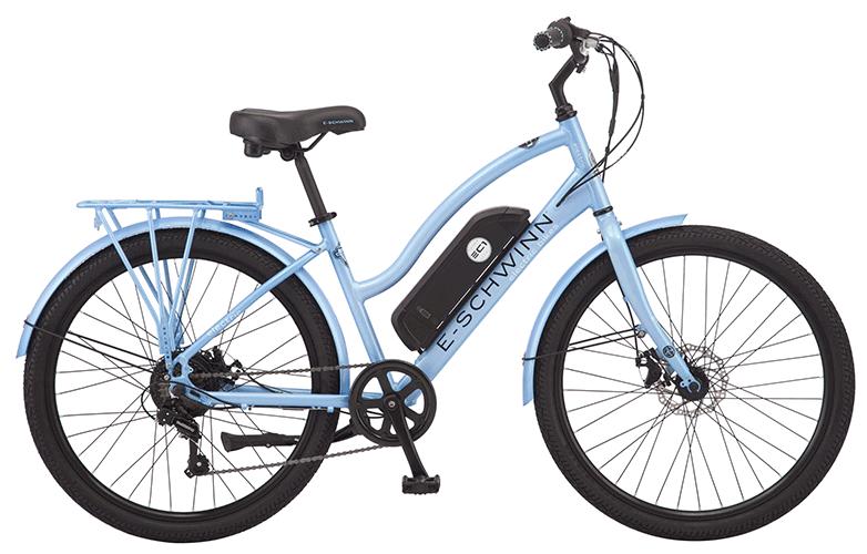 electric city cruiser bike e-schwinn