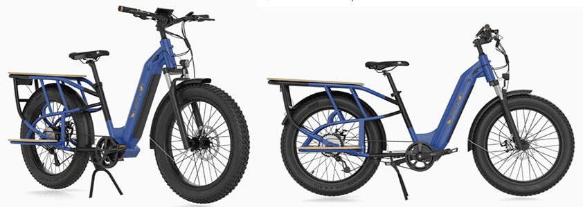 quietkat sherpa electric step over hybrid bike