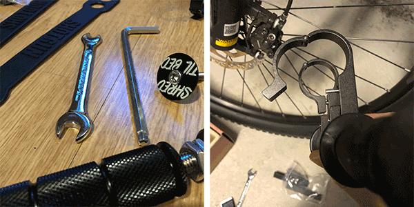 shotgun kids bike seat parts