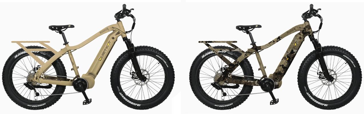Electric bike QuietKat Warrior
