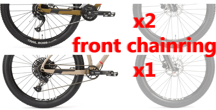 single double front chainring
