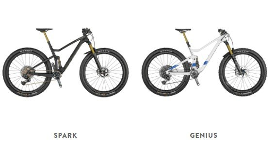Soctt trail bikes