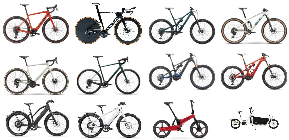 bikes at mikes bikes