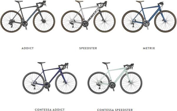 Scott endurance road bikes