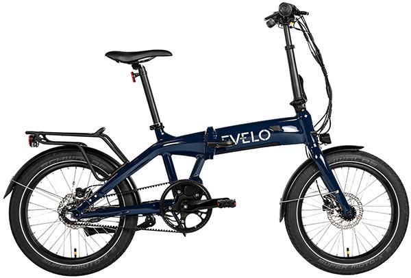 evelo dash folding bike