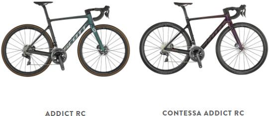 Scott lightweight road bikes