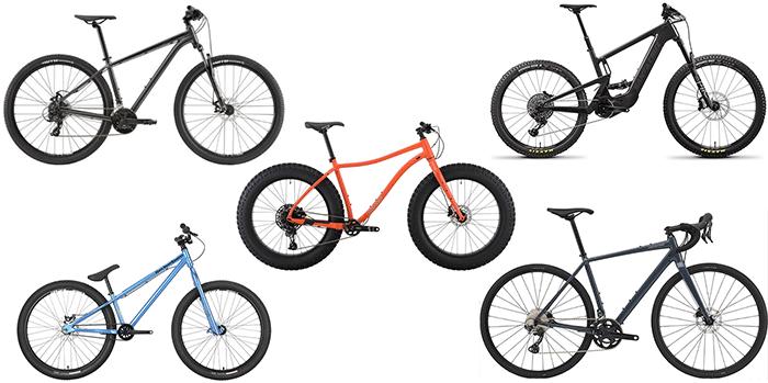 mountain bike types