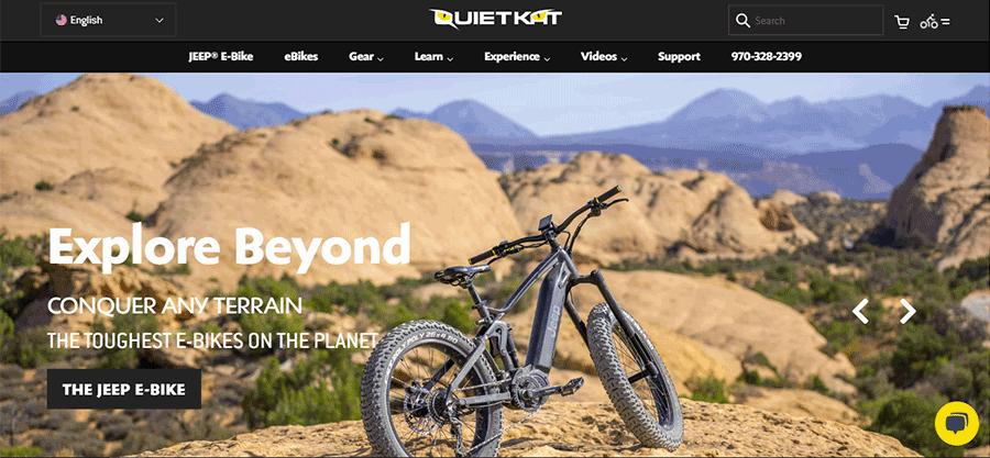 quietkat website home page