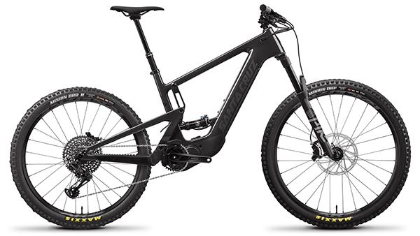 santa cruz bicycles full suspension electric heckler