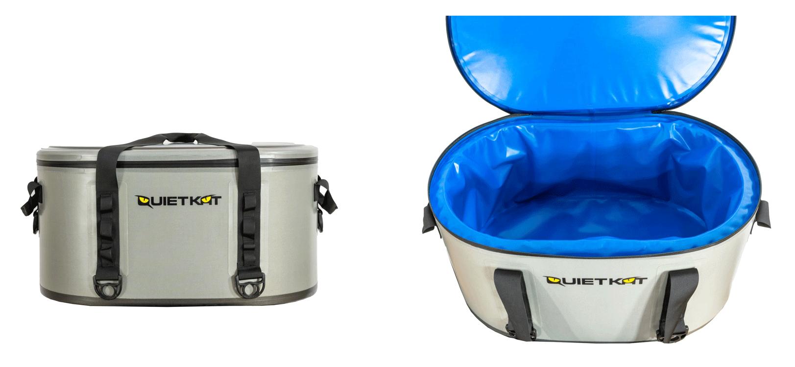 One of the QuietKat accessories - Gore Cargo Cooler