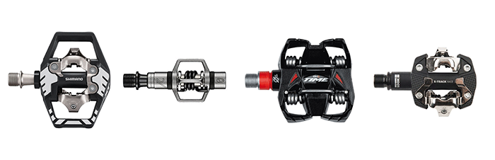 shimano crankbrothers time look pedals