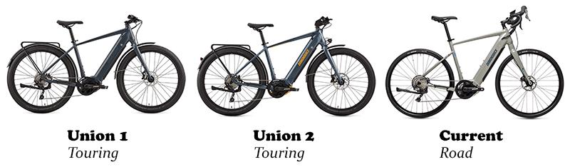 diamondback e touring bikes selection