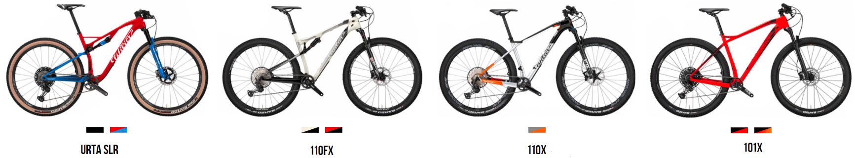 wilier mountain bikes