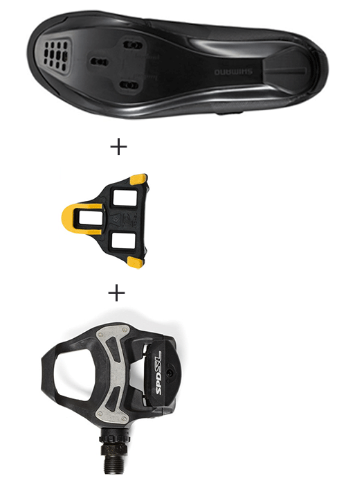 how to clip in bike shoes