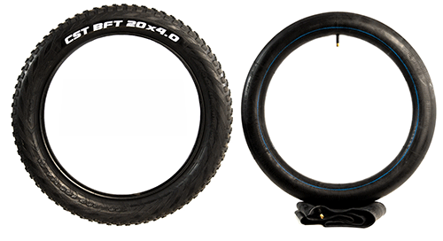 lectric xp fat tires