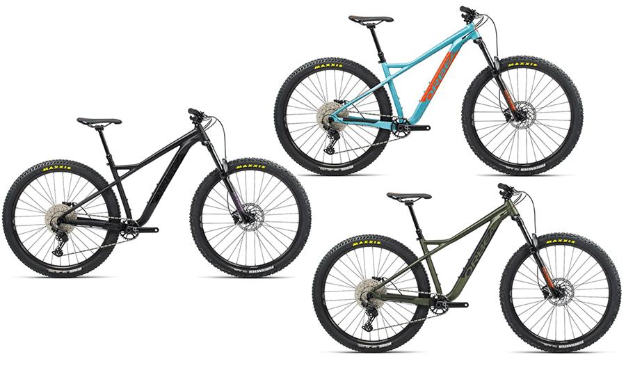 orbea laufey hardtail mountain bikes