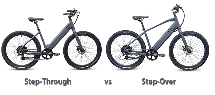 step over vs step through bike