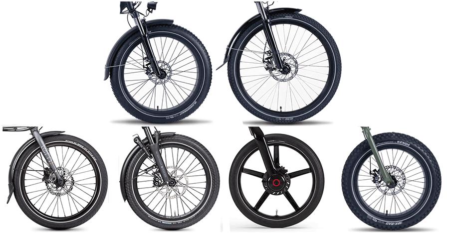 20 inch ebike wheels
