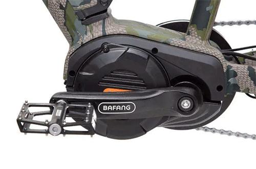 bafang ultra mid drive motor on mule electric bike
