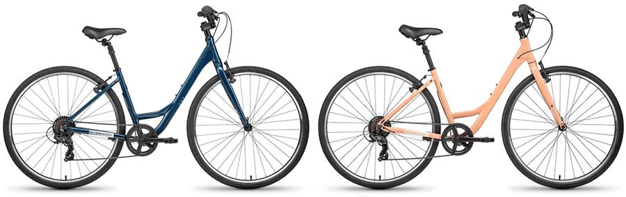 batch bikes comfort step over bikes