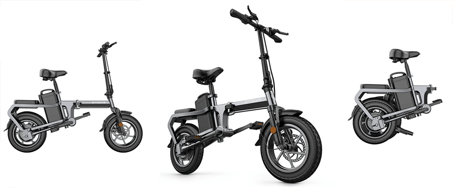 engwe x5s electric folding bike