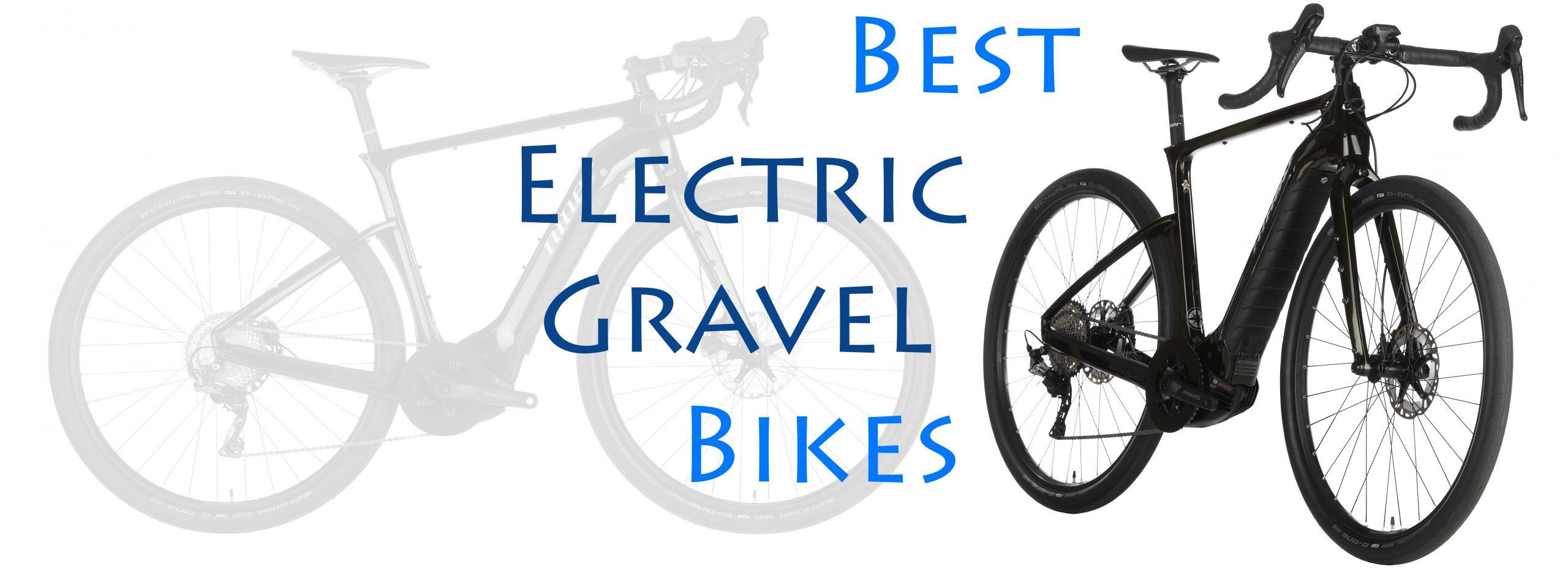 best electric gravel bikes
