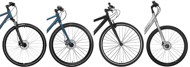 tipos de bicicletas híbridas