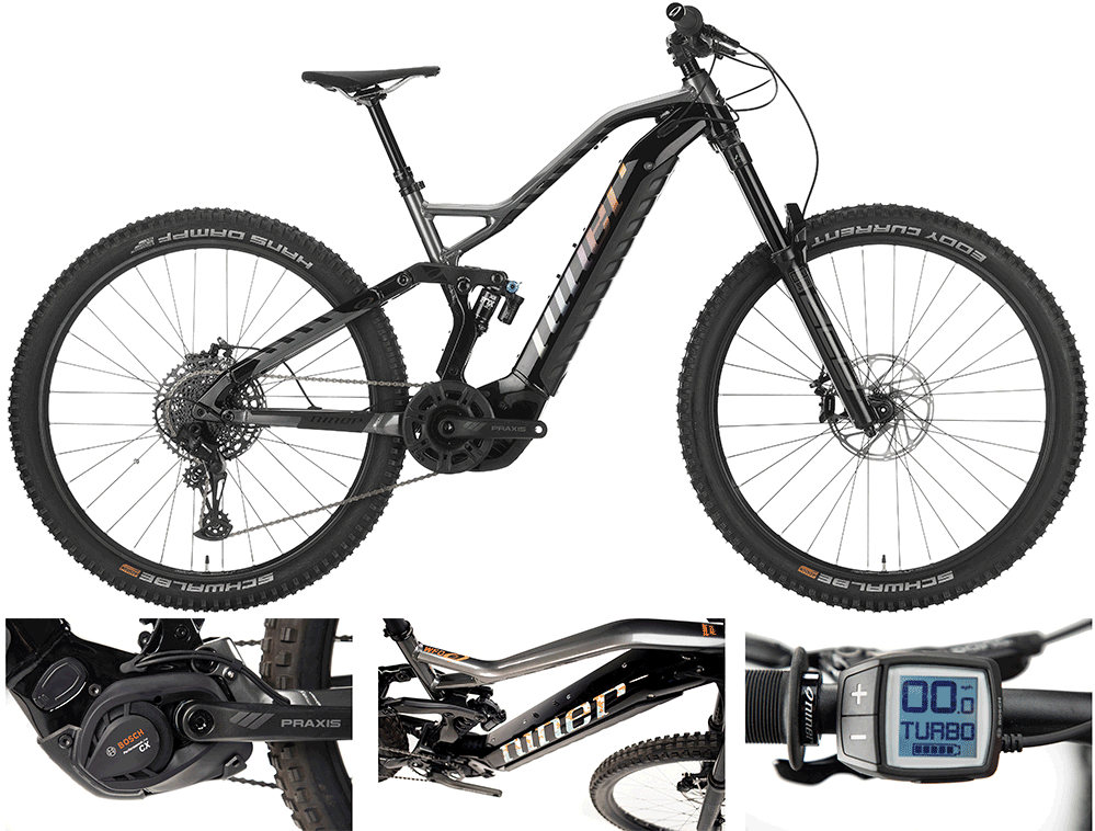 niner electric mountain bike