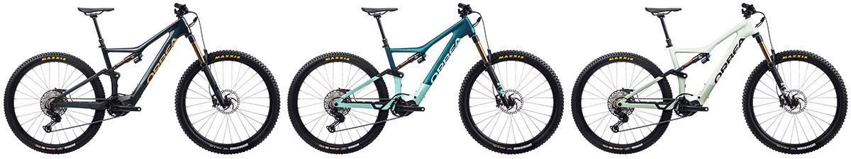 orbea electric mountain bikes