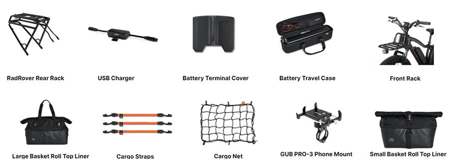 rad rover accessories