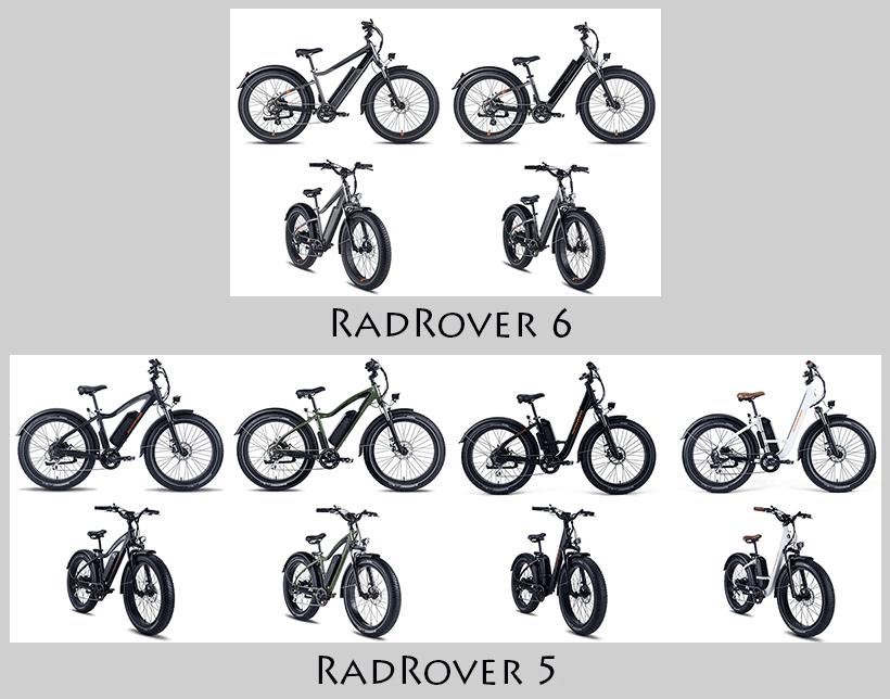 radrover 5 radrover 6