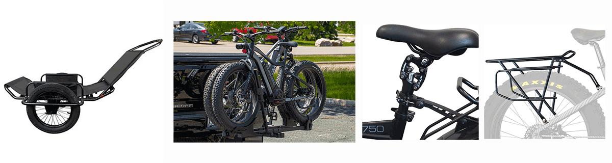 rambo bikes accessories, rambo bike trailer, rambo bike carrier