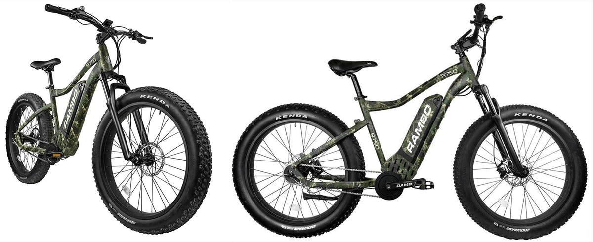 rambo bikes r750c the roamer ebike