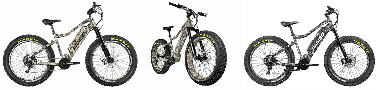 rambo rebel hunting bike