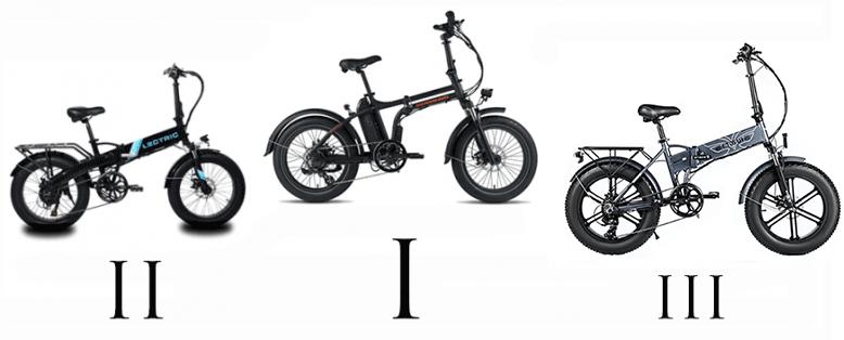 top 3 folding electric bikes