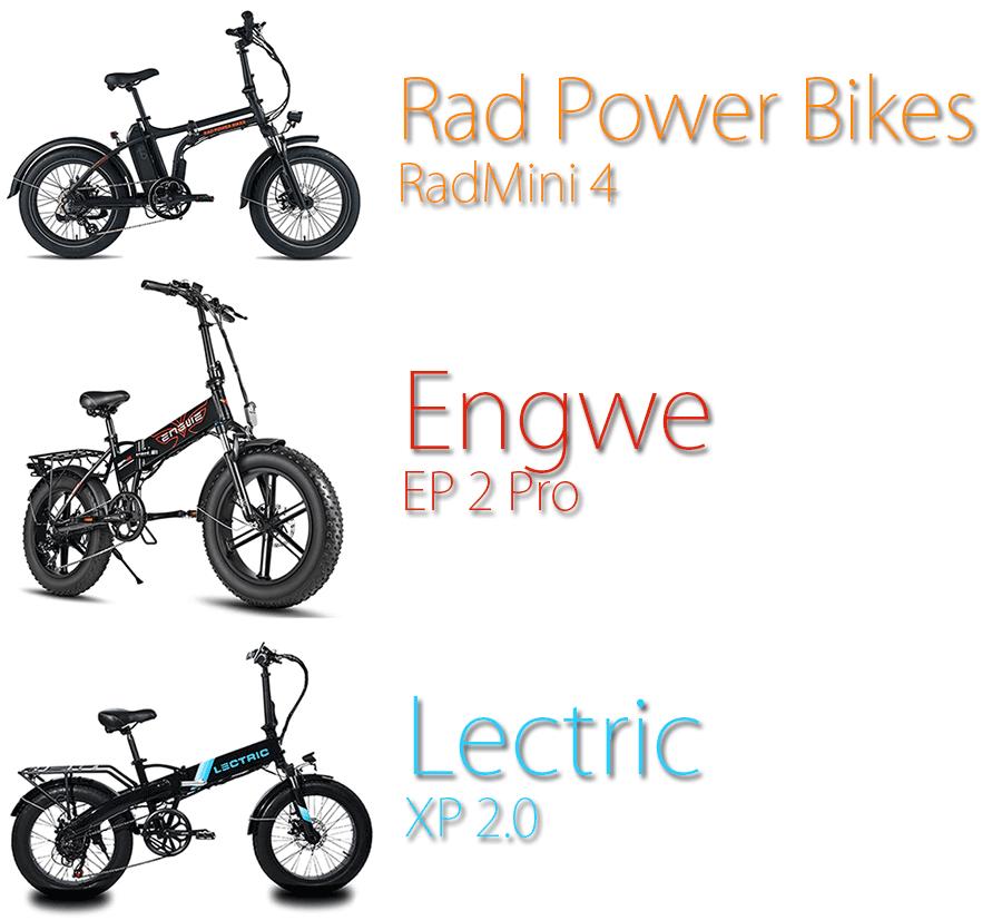 folding ebike comparison