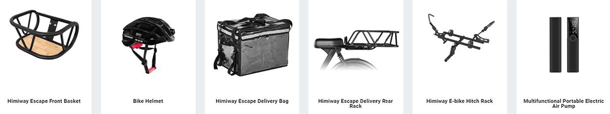 himiway escape accessories