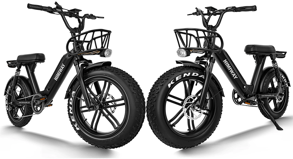 himiway electric moped style ebikes