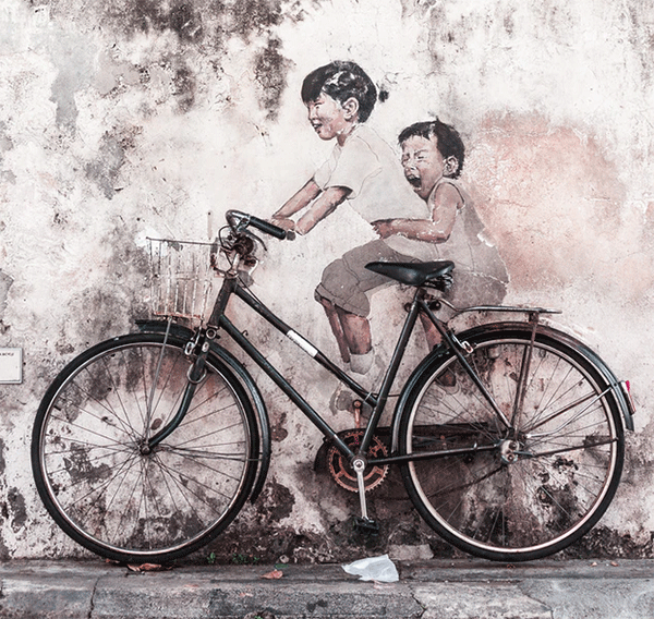 step through bike