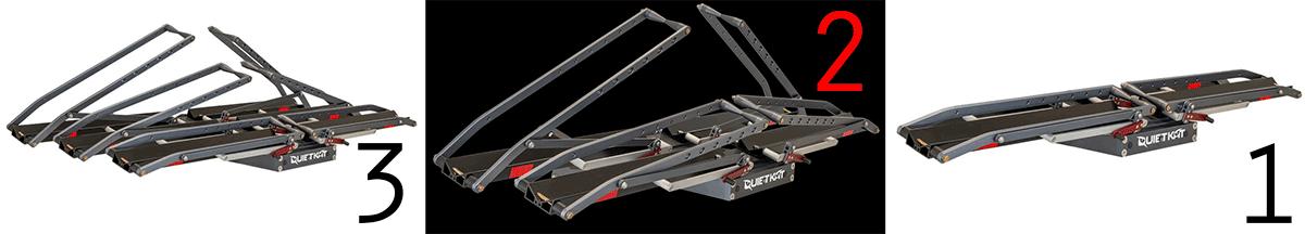 1 up bike rack