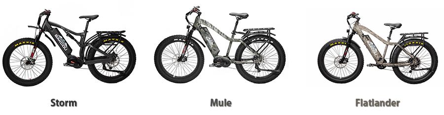 Bakcou bike models