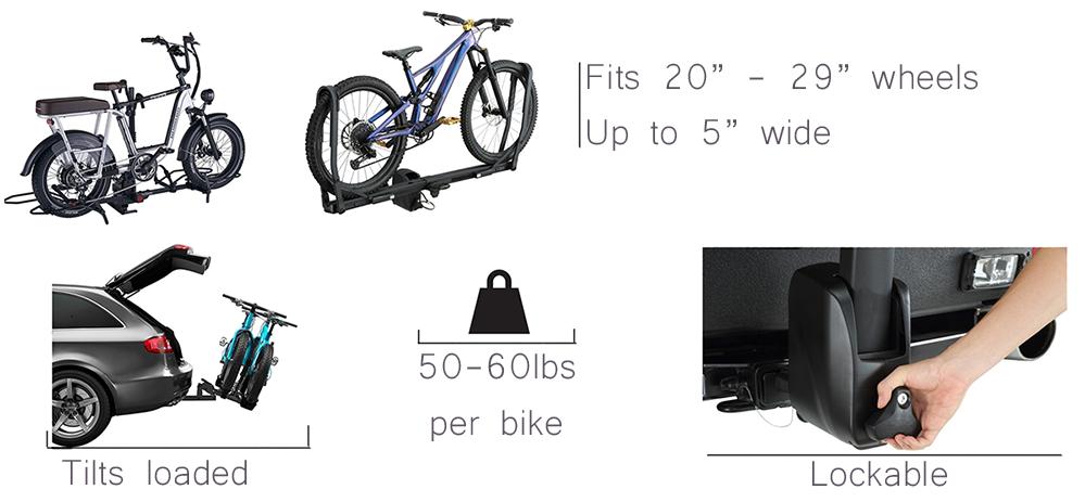fat bike rack features