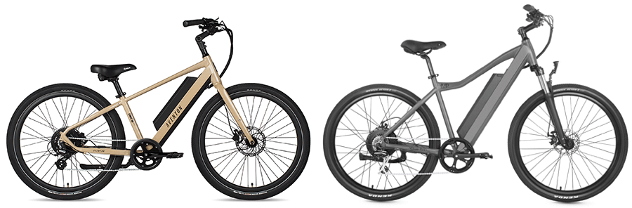 pace 500 vs ride1up 500 series