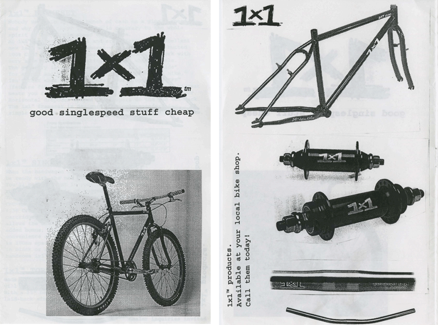 surly 1x1 in 1998 year's catalog