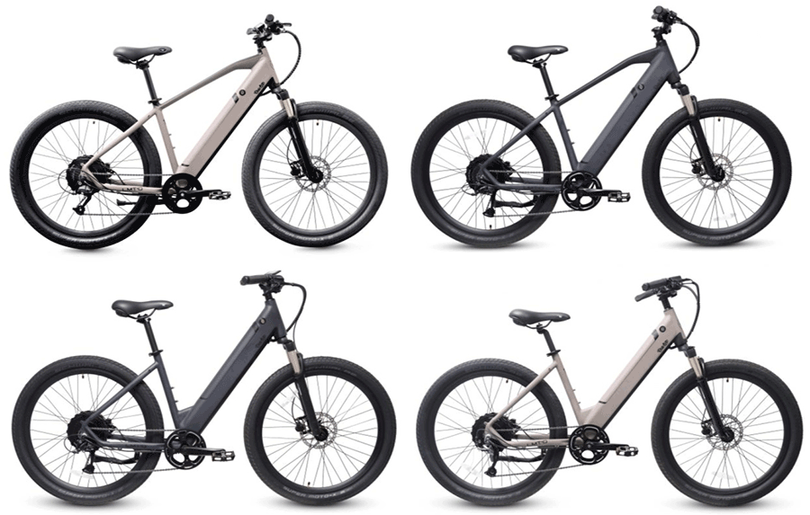 ride1up lmtd electric bike in all variations