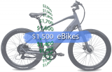 Best Electric Bikes Under $1,500