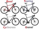 Gravel vs Cyclocross vs Touring