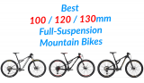 Best Short-Travel Full-Suspension Mountain Bikes – 100 to 130mm