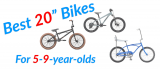 Best 20″ Boys Bikes – For 5 to 9 Year-olds